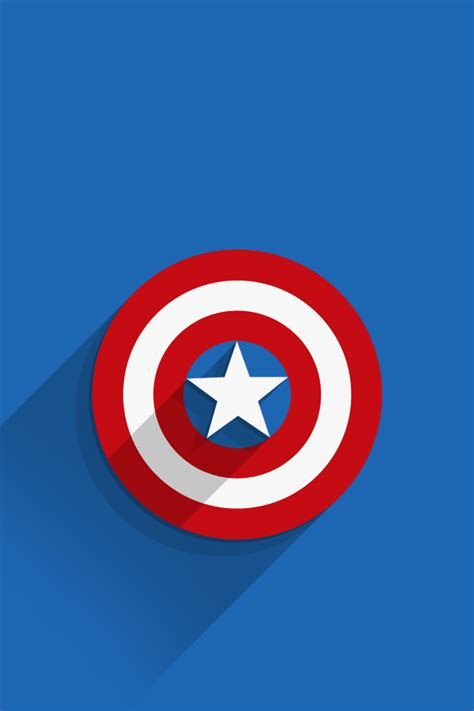 captain america ios wallpaper iphone7 wallpaper captain america logo ios mode