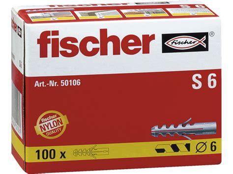 Ficher S6 fischer pluggen s6 100 st