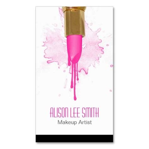 Free Card Templates Wiht Lip Stick by 205 Best Images About Artist Business Cards On
