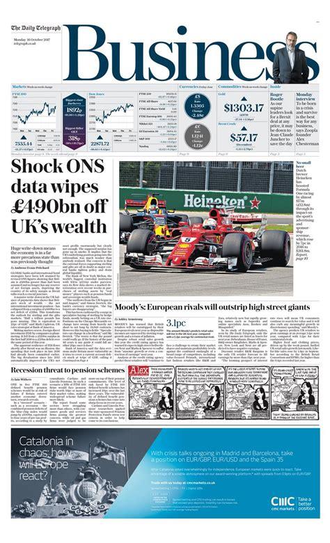 Shock Wealth Telegrpah Shock Ons Data Wipes 163 490bn Uk Wealth