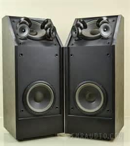Bookshelf Or Floorstanding Speakers Bose 601 Iii Direct Reflecting Speakers Rare Black Finish