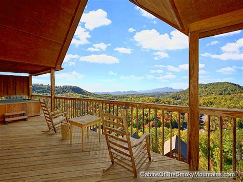 pigeon forge cabin mountain high view from 130 00