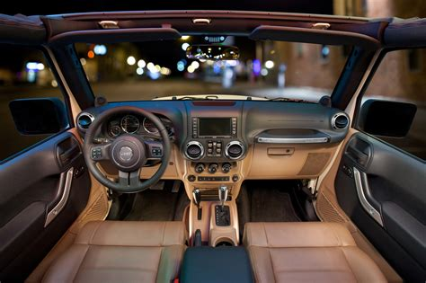 Inside Jeep Wrangler by 2011 Jeep Wrangler Gets New Interior Autotribute