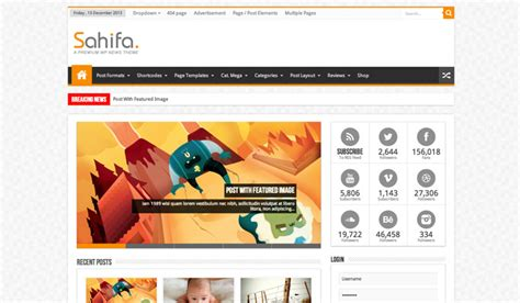 sahifa theme sle data sahlifa wordpress theme review