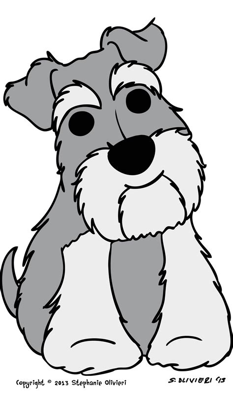 schnauzer coloring pages pictures to pin on pinterest