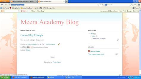 build blog how to create a blog with blogger com