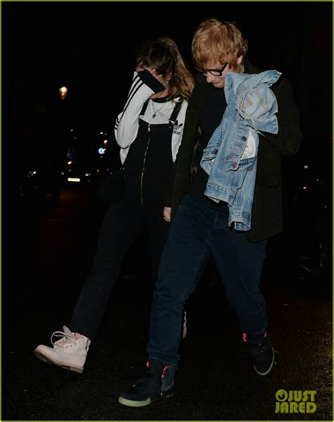 ed sheeran perfect harmony ed sheeran steps out with longtime girlfriend cherry