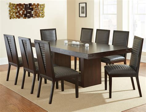 steve silver harmony 8 piece oval dining room set in steve silver antonio 9 piece dining room set w charcoal