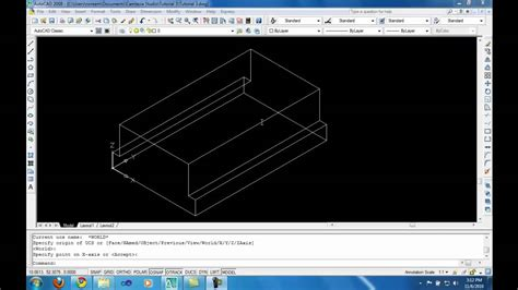autocad tutorial youtube 2010 autocad 3d modeling tutorial 3 part 1 youtube