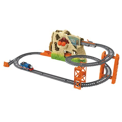 Friends Adventure Series Straights Track Pack tootally volcano drop set trackmaster revolution