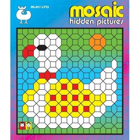 mosaic picture book buki mosaic pictures 2 activity book arts