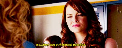 emma stone easy a gif emma stone question gif find share on giphy