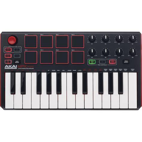 Keyboard Controller akai professional mpk mini mkii compact keyboard and mpkmini2