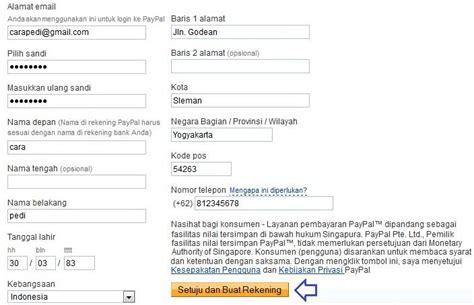 cara membuat akun paypal menggunakan atm cara daftar dan membuat akun paypal terverifikasi terbaru