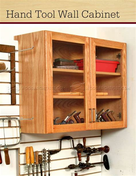 wooden storage cabinet plans tool wall cabinet plans woodarchivist
