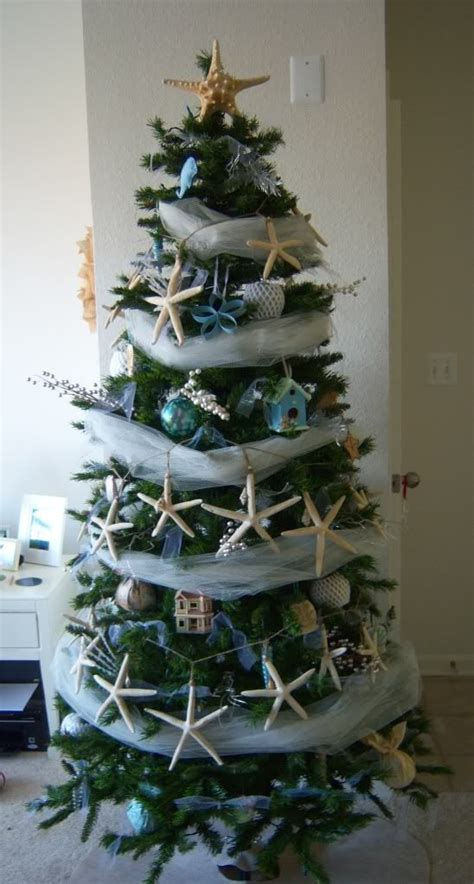 cool wrap around a christmas tree coastal christmas