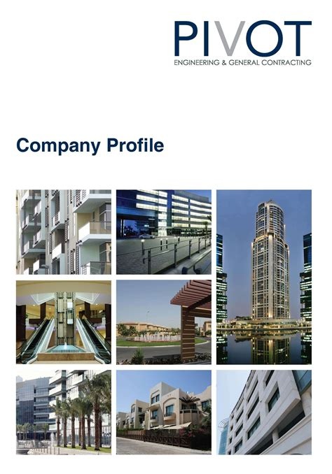 construction company profile cover page www pixshark