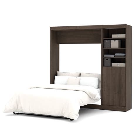 wall bed kits nebula 84 quot full wall bed kit in antigua