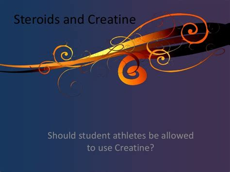 creatine a steroid steroids and creatine
