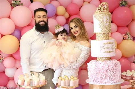 Salim Mehajer's sister throws extravagant first birthday