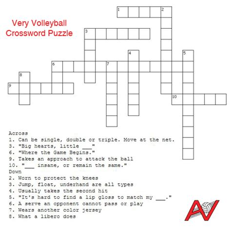 free printable word search puzzles volleyball all volleyball blog very volleyball crossword puzzle