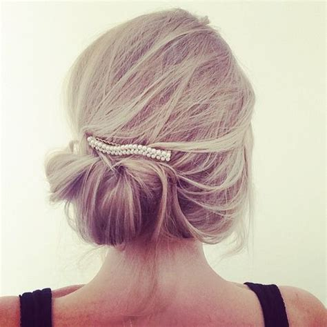 Updos Hairstyles For Thin Hair by 50 Updos For Thin Hair That Score Maximum Style Point