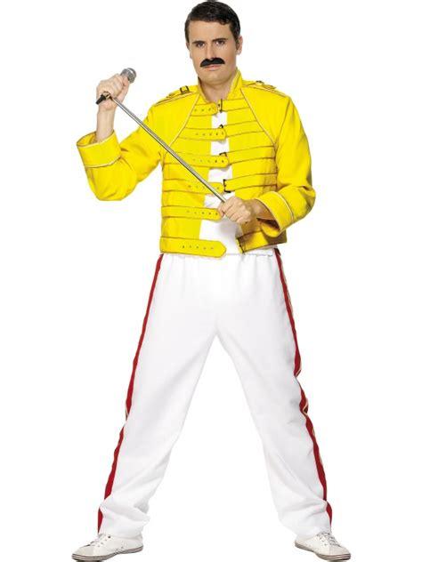 freddie mercury wembley costume yellow jacket size  ebay