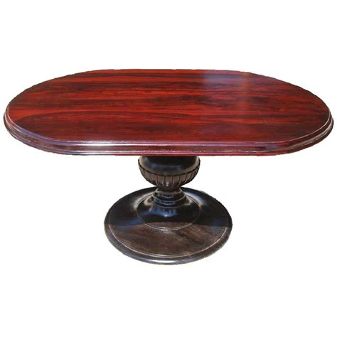 pedestal dining table oval sutton oval solid wood pedestal dining table