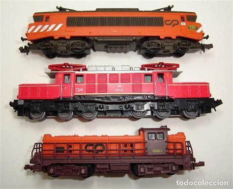 Cp N lote de 3 locomotoras estaticas escala n cp por comprar