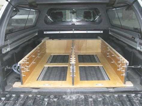 truck bed drawers plans diy truck bed storage drawers plans clublifeglobal com