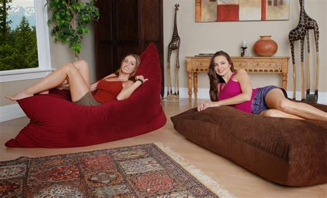 fombag vs lovesac comfy sack bean bag furniture reviewed and tested against