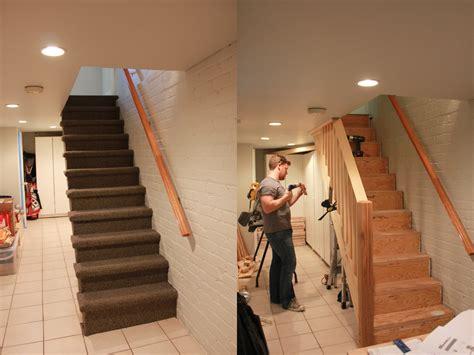 Basement Stairs Relocation In Warren