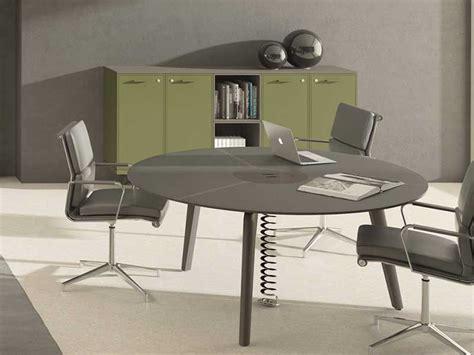 Table Ronde 90 Cm 566 by Bureaux De Direction Verre I Bureau Net