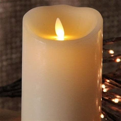 luminara christmas tree strand candles battery operated candles and lighting realistic look