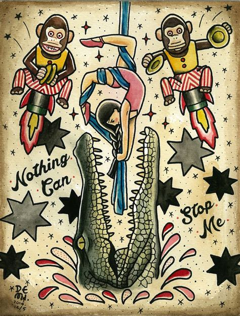 where to get your old school tattoo in bali britt s world original tattoo design by demi nothing can stop me