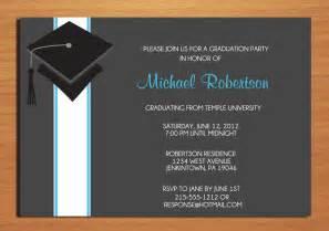 graduation invitation wording theruntime