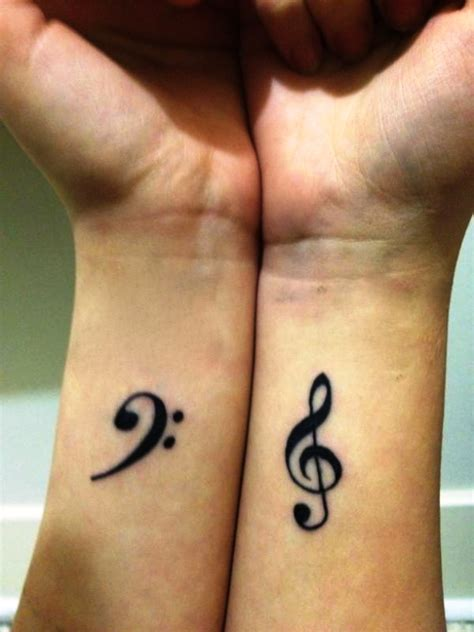 couples music tattoos 15 small tattoos ideas yo