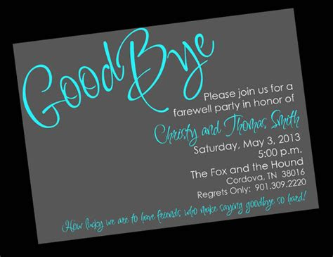 farewell bon voyage going away invitation by wackykracker