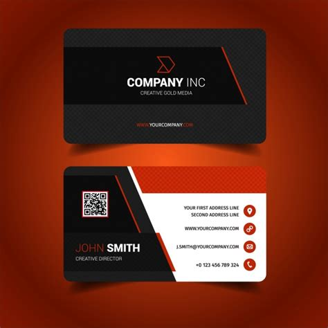 designer visiting cards templates business card design vector free