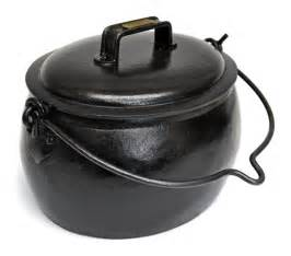 Cast Iron Cooking by Solid Cast Iron Romany Gypsy Pop Belly Cooking Pot Ebay