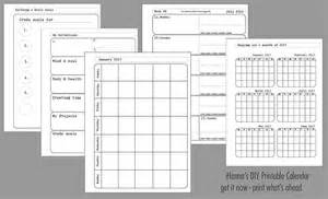 Make Your Own Planner Pages Template Undated Printable Calendar For A Whole Year Print Today