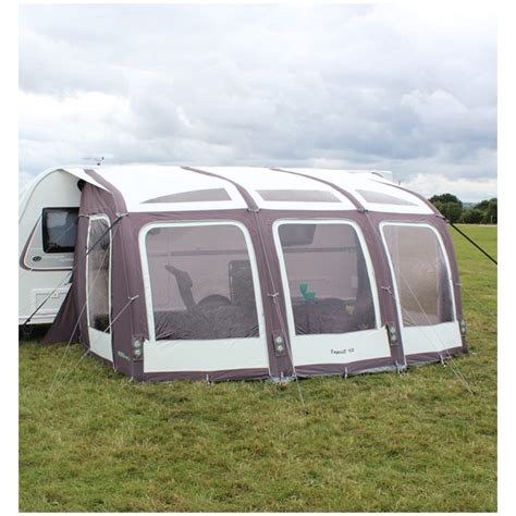 caravan awning groundsheet outdoor revolution esprit 420 caravan air awning with