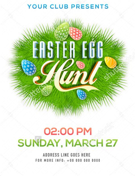 easter flyer template easter flyer template templates data