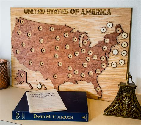 map of quarters new product 50 state quarter display map tinkermake