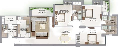 lotus boulevard floor plan 3c lotus boulevard in sector 100 noida price location