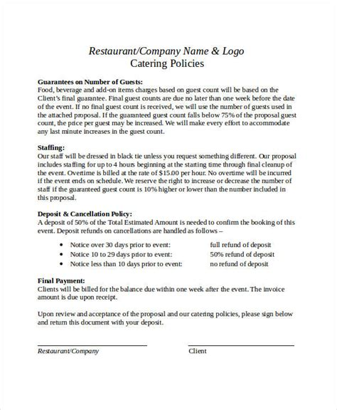 business offer template business format 18 free pdf word documents
