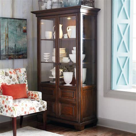 interior decorating curio cabinet decorating corner