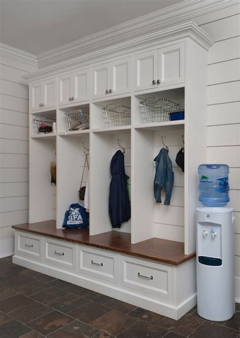 mud room freestanding mudroom bench design ideas