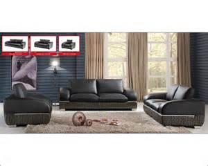 italian leather sofa set modern italian leather sofa set esf8001set