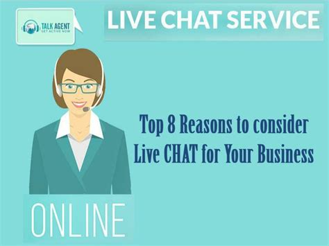 Top 8 Reasons To Tell The by Ppt Top 8 Reasons To Consider Live Chat For Your